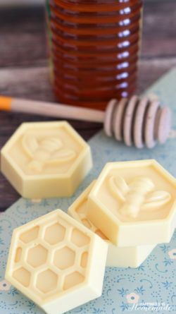 10-Minute DIY Milk & Honey Soap – Happiness is Homemade