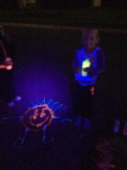 Flüssige Leucht Kreide