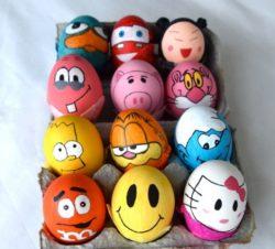 106 Ideen, wie Sie Ostereier färben, dekorieren und gestalten können