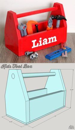 DIY Kinder Werkzeugkiste