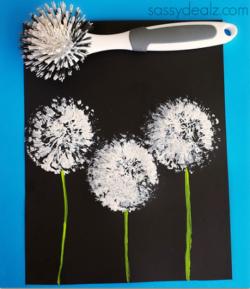 Kategorie malen und zeichnen bastel - Pusteblume basteln ...